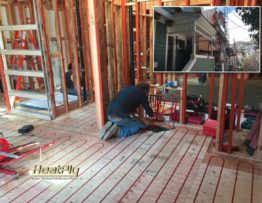 HeatPly Radiant Heating system and Tesla Solar Roof