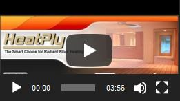 Introduction to Radiant Floor Heating - HeatPly